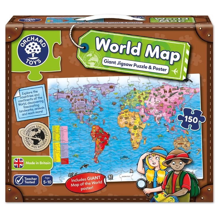 Best 25 world map puzzle ideas on pinterest come fly with me world map puzzle poster gumiabroncs Images