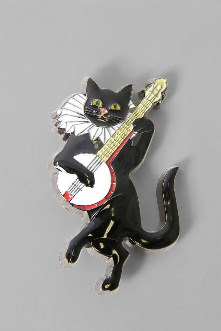 Le Chat Noir Brooch