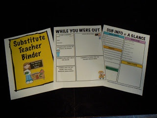 Step by step instructions for creating a substitute teacher binder. I have seen some other sites that have similar pages but it seems like each different site leaves out a page here or there that other sites include. I suggest checking your sub folder against many different sites to make sure you have thought of everything. It is better for the sub to be too prepared than not prepared enough! 6374