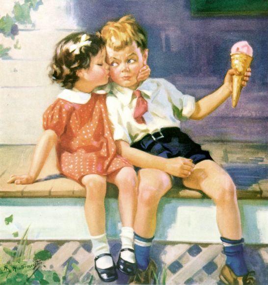 Kiss For Ice Cream