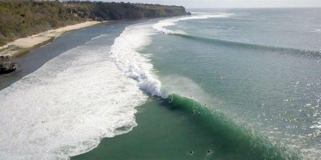 Perfect Padang Padang from Above | Indo Barrels