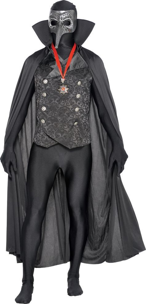 Adult Male Masked Vampire Partysuit ($99.99) Costume - Party City ONLINE