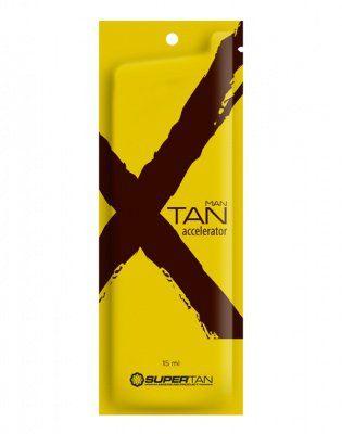 X Tan Активный ускоритель загара с эффектом бронзирования для мужчин 15мл Supertan American Product от Supertan American Product