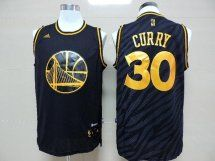 Golden State Warriors 30 Stephen Curry Black