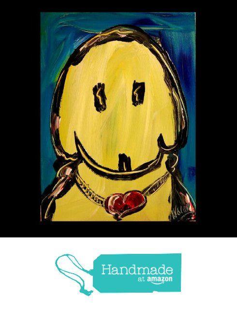 Mark Kazav Original Paintings Yellow Dog from Mark Kazav Fine Art Original Paintings https://www.amazon.com/dp/B01N5D124P/ref=hnd_sw_r_pi_dp_CWFsybPBTSWHB #handmadeatamazon