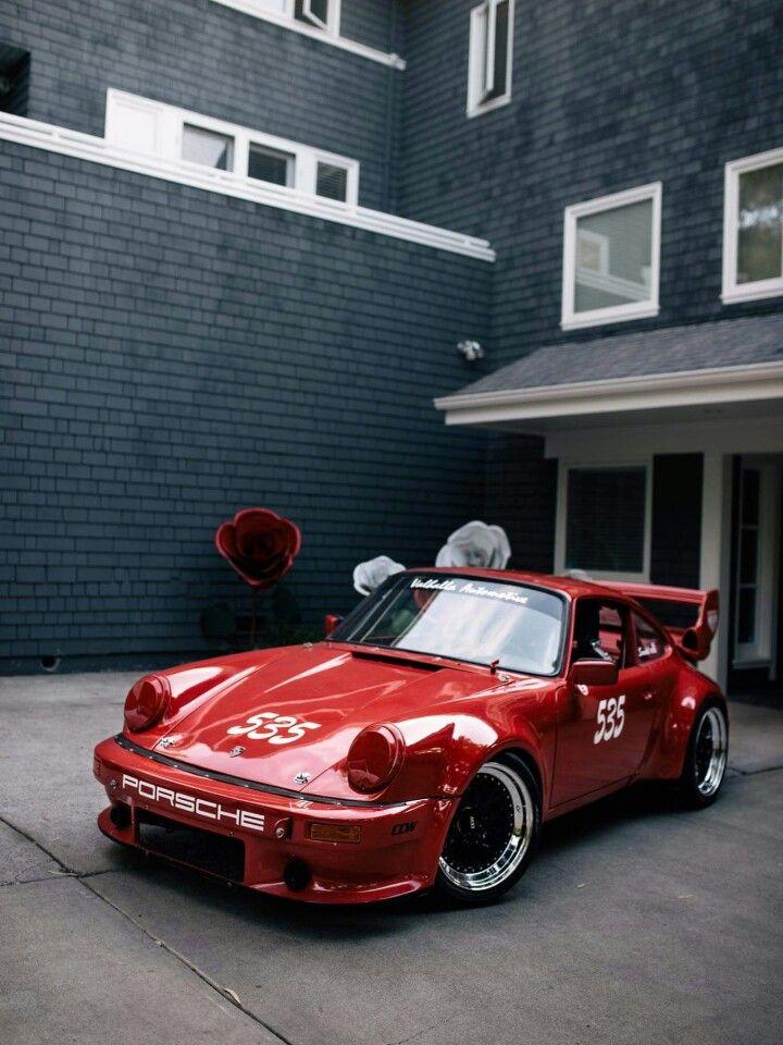 Sweet Porsche in bright red! #SportsCar #Speed #Power #Performance