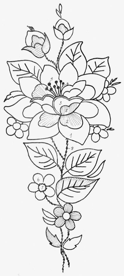 graphic relating to Printable Embroidery Patterns named Classy - Embroidery Designs Free of charge Printable #pin
