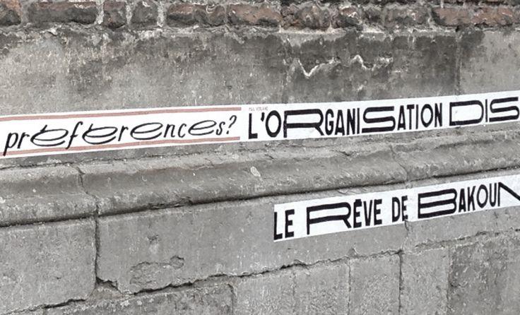 La phrase 10 kilometres de poesie dans la ville de mons