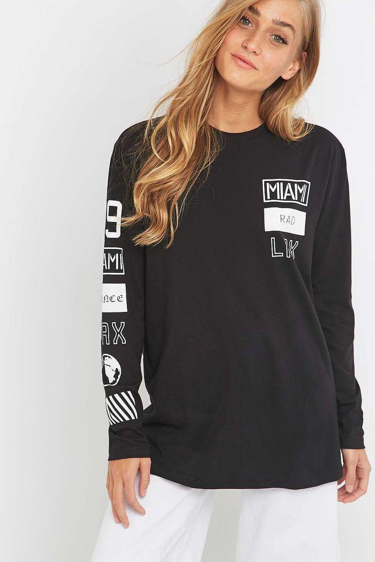 Black t shirt urban outfitters - Light Before Dark Skater Logo Black T Shirt