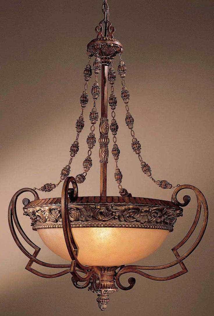 6373 best lamps images on pinterest chandeliers lamps and art nouveau belcaro collection four light pendant chandelier lampsplus drawing inspiration from 17th arubaitofo Images