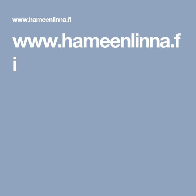 www.hameenlinna.fi