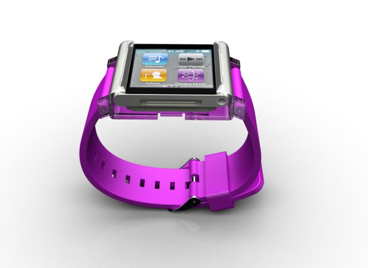 iPod Nano watch accessory.