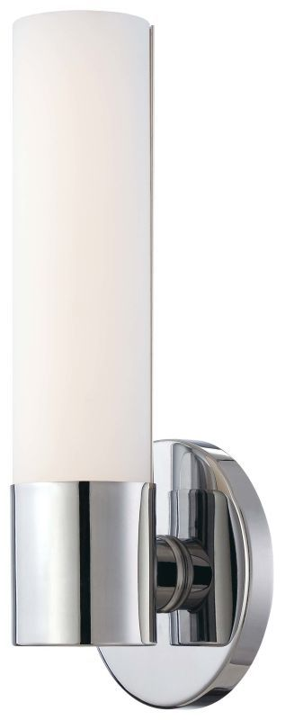 "Kovacs P5041-077-L 1 Light 4.75"" Width ADA Compliant LED Bathroom Sconce in Chro Chrome Indoor Lighting Bathroom Fixtures Bathroom Sconce"