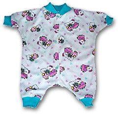 Frühchen Strampelanzug / Schlafanzug nähen I Preemie Sleeper, Vita 4-6 lbs (ca 1,8-2,7kg)