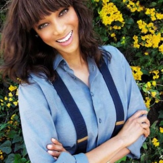 Tyra Banks is a woman I admire. She is honest, hard working and an inspiration to all women. I loved her on ANTM and on the Tyra Show.