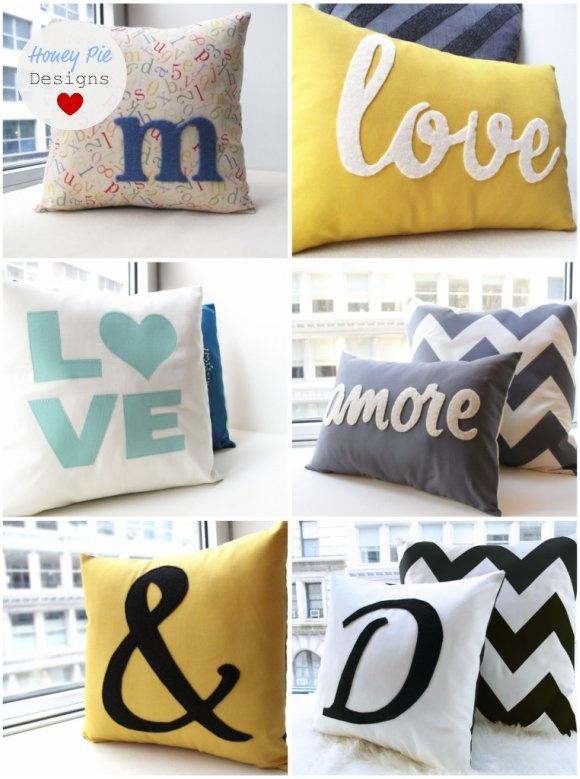 throw cushions font etsy