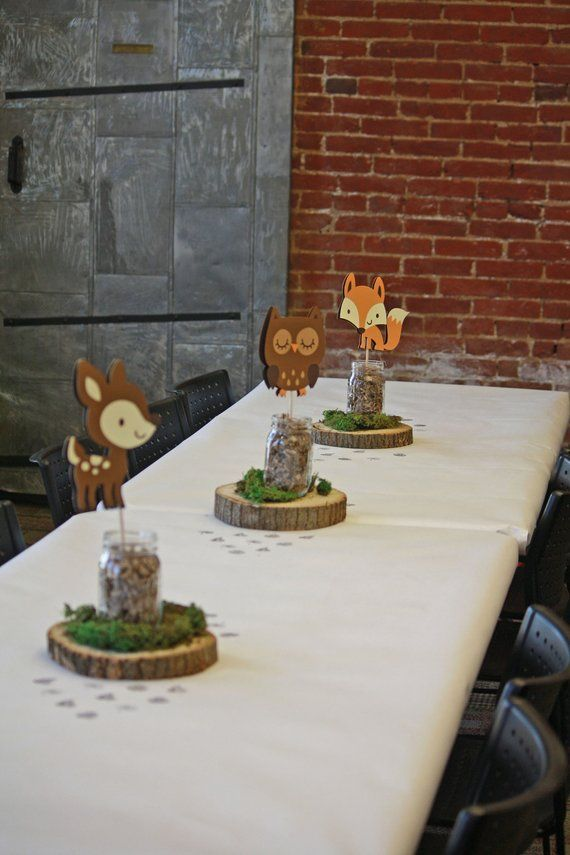 Woodland Baby Shower Decoration 5 Woodland Animal …