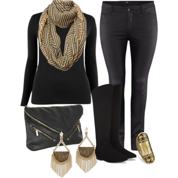 36 best Black boots & jeans images on Pinterest