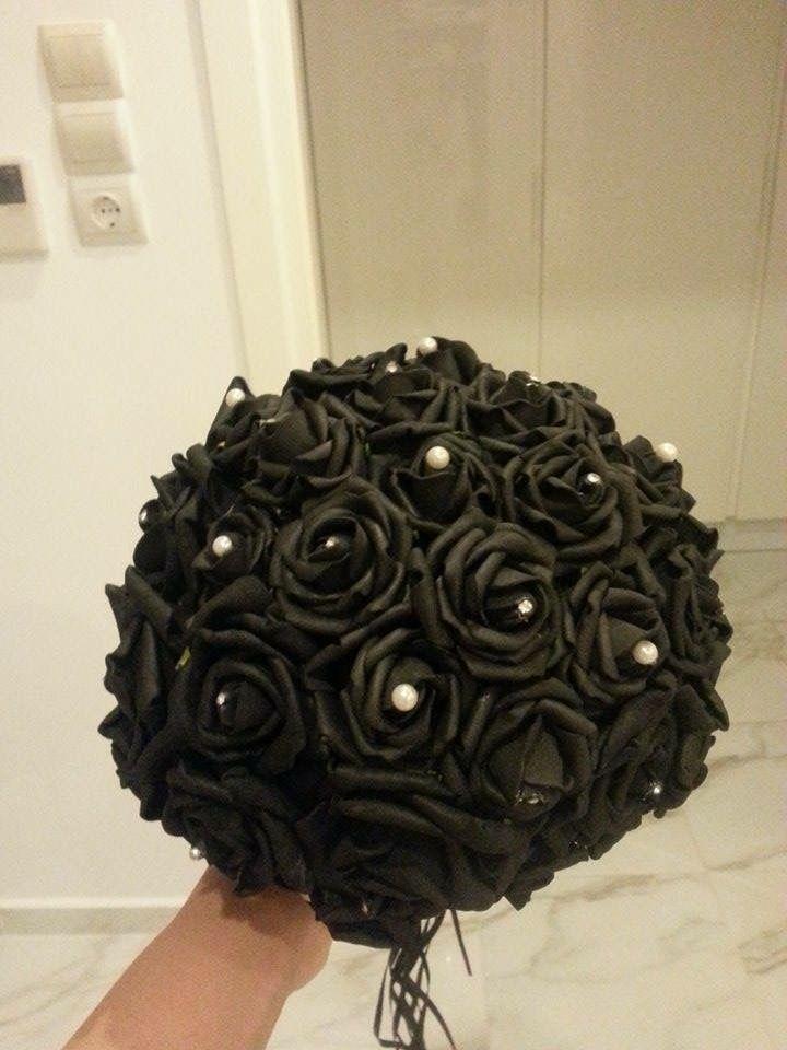 Foam roses bouquet