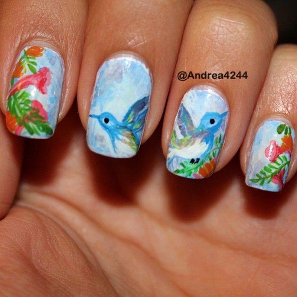 Instagram photo by  andrea4244 #nail #nails #nailart