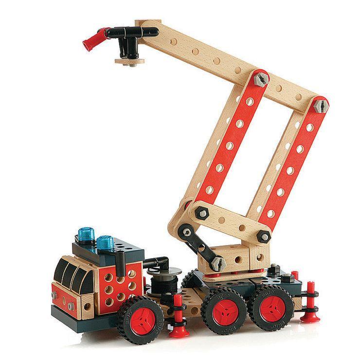 Brio builder fire truck kit