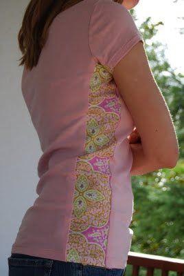 Ela deveria ser chamada de mulher: idéias de costura Precisa tanto de camisas de banda, que eu   – Stoffkunst