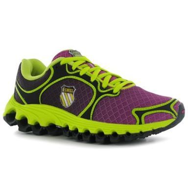 K Swiss Swiss Tubes 100 Ladies Running Shoes - SportsDirect.com