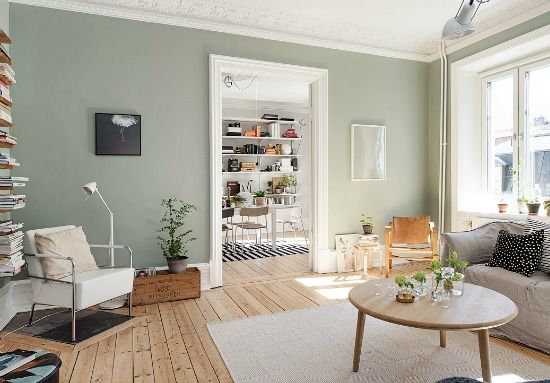 Passion Shake | Stunning Swedish apartment | http://passionshake.com