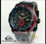 QUIKSILVER CHRONO BLACK RED