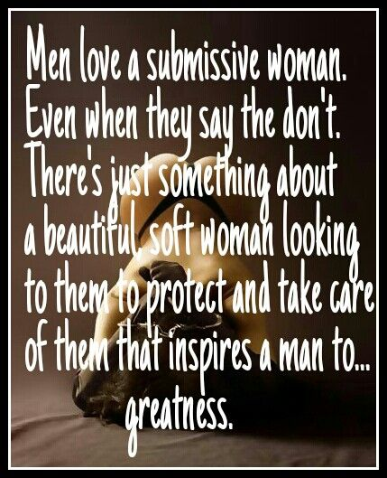 What To Say To A Submissive Woman