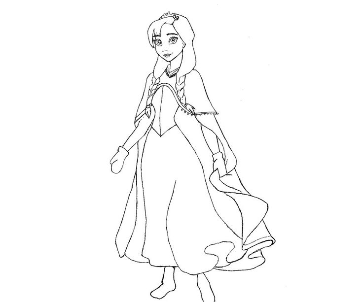 Wallpapers Frozen Coloring Page Printable