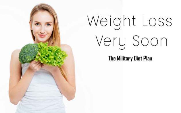 Quick Weight loss plan | Loss 5 kg in 3 days | The Military Diet