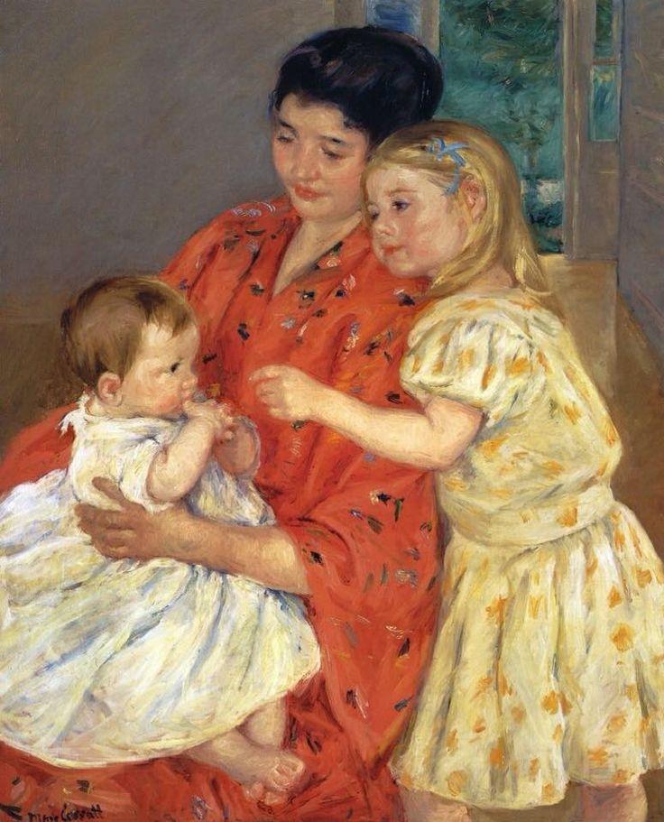 Mary Cassatt(1844-1926)                                                                                                                                                                                 More