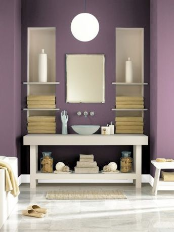 Benjamin Moore Kalamata - I used this in the bedroom, is a good bit darker then this picture but I love it! Three walls in Kalamata and one long wall in Behr Wasabi Powder :-)
