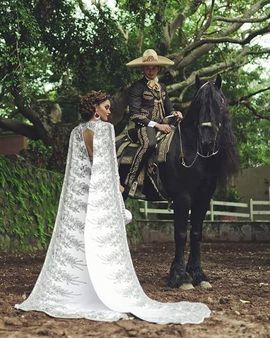 I Love My Mariachi Life Photo Wedding Dresses Charro