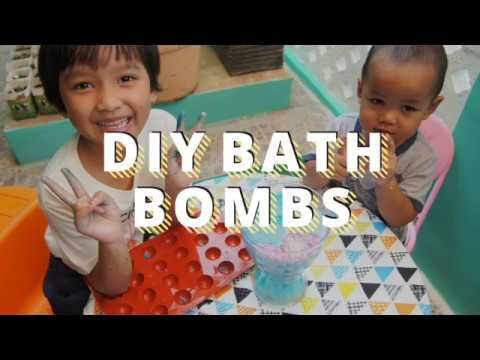 Super Fun and Easy DIY Bath Bombs
