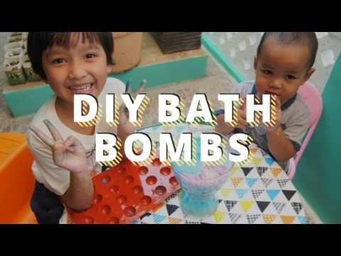 Super Fun and Easy DIY Bath Bombs