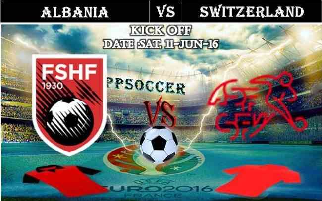 Albania vs Switzerland 11.06.2016 Free Soccer Predictions, head to head, preview, predictions score, predictions under/over EURO Cup Group Stages