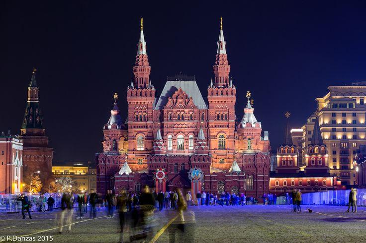 https://flic.kr/p/xEk6M9 | La place rouge et le musée d'histoire Russe