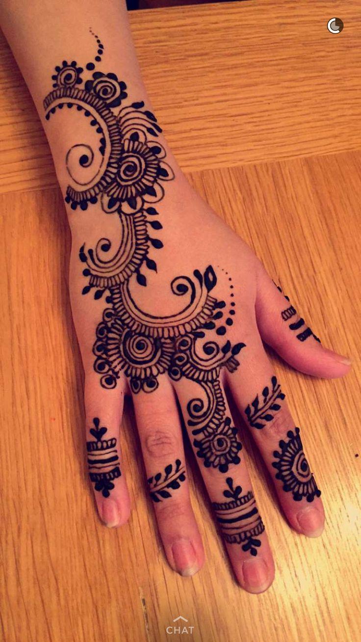 Coloring pages of mehndi hand pattern - Mehndi Designs Hands Henna Mehandi