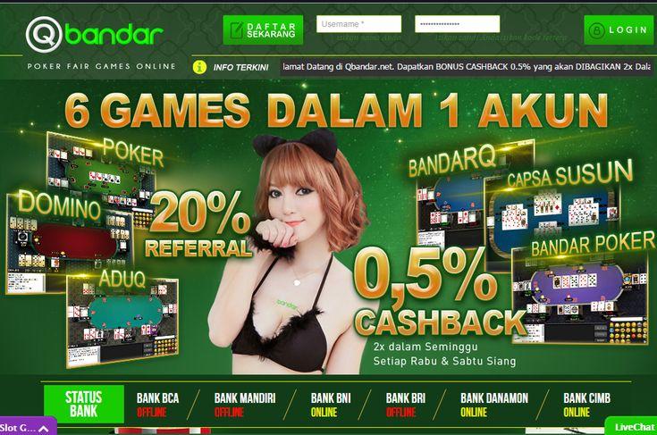 QBandar - Poker Online, Domino Online, Terpercaya