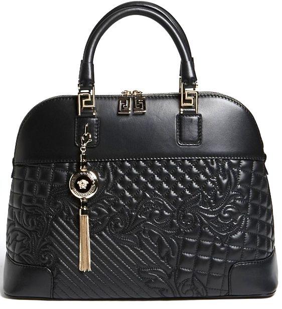 Versace 'Vanitas' Dome Satchel