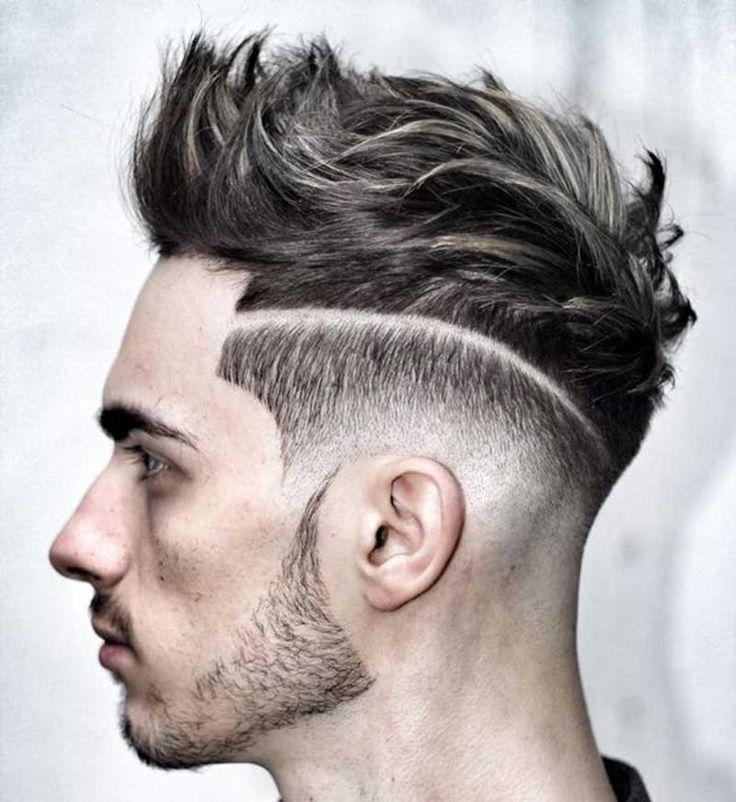 Low-Fade Fohawk haircut