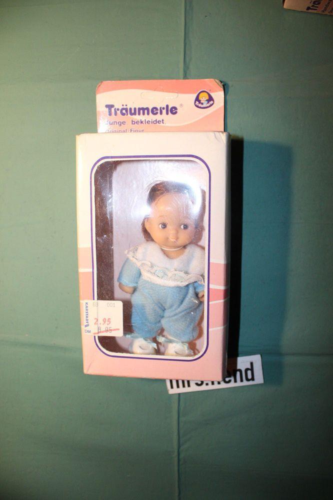 Träumerle Figur Junge klein,bekleidet Europlay 70er-80er Jahre original verpackt