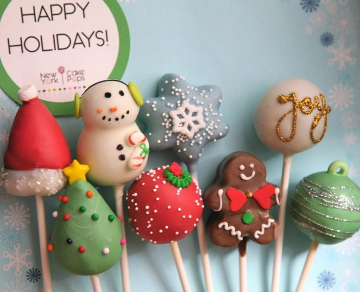 @Shea Ferguson  @Misty Ferguson  Can we makes these during Christmas??? Snowman, snowflake, joy, gingerbread and other holiday cake pops...  P.S. I'm assuming I'll see you both!