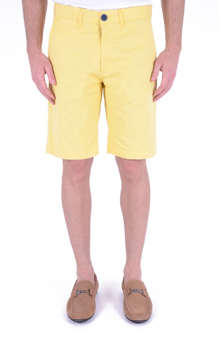 SPODY YELLOW SHORT PANTS