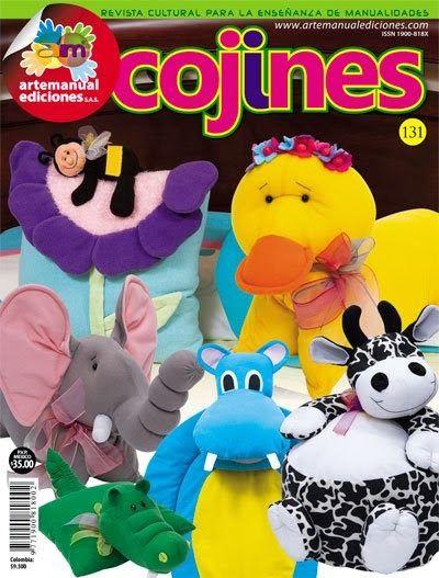 Revistas de manualidades Gratis: Revista Cojines gratis