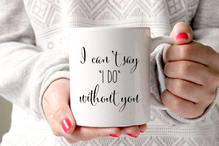 This coffee mug for your Bridesmaid makes the perfect wedding gift for the Coffee or Tea loving Bridal Party member- let's admit it, that's 99% of them. Ask your Bridesmaid or Maid of Honor to be apar