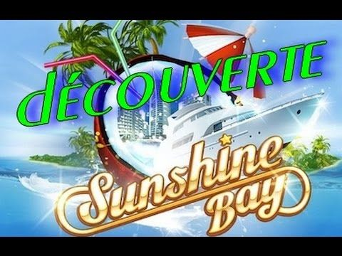 Enjoy Game's: sunshine bay vidéo découverte (appli facebook game...