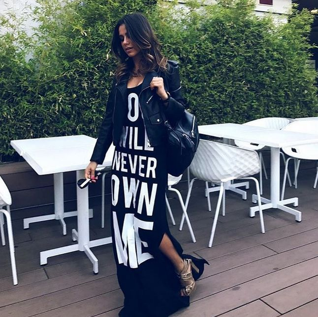 YOU WILL NEVEW OWN ME 🙌🏻 @klaudiasalvini for #shopart #springsummer17 #woman #collection #amazing #dress #shopartmania